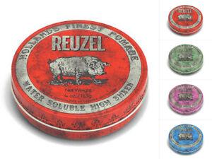 Reuzel Pomade 113g Red Green Pink Blue Bartpflege Haarpomade