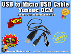Yuneec USB to Micro USB Cable for Yuneec Typhoon H/H-Pro with ST16 Controllers