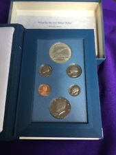 1987 US Coin Proof Set Kennedy Half Dollar Rare Nice Gift Free Shipping 66552000