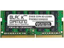 Black Diamond Memory 8GB 260-Pin DDR4 SO-DIMM ECC Unbuffered DDR4 2133 (PC4 1700