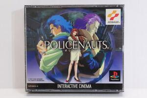 POLICENAUTS Hideo Kojima PS1 PS 1 PlayStation Japan Import US Seller P1272 READ