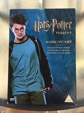 Harry Potter (DVD, 2004, 6-Disc Set, Box Set)