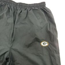 Green Bay Packers Athletic Wind Pants L Logo Athletic Large NFL Lined Exercise