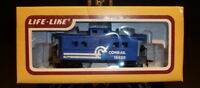 Vintage HO Scale Life-Like Conrail 18629 Caboose Car Train #8535 New IN Box