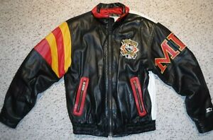 PITTSBURGH PIRATES 1994 ALL STAR GAME STARTER LEATHER JACKET THREE RIVERS STAD.