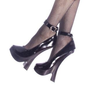 "DEVIOUS Femme-12 8"" Heel Closed Toe Platform Pump"