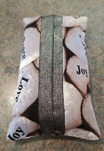 """Pocket Kleenex Holder with Positive words like """"Joy, Love, Peace, Faith"""""""