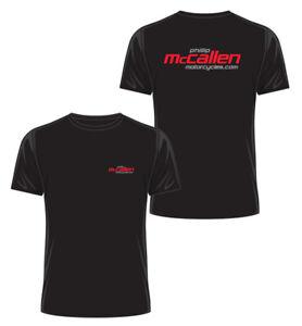 Phillip McCallen Motorcycles T-Shirt - Black - Official Phillip McCallen Moto...