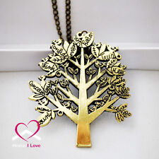 Vintage Style Design Tree Necklace - Wishing Tree