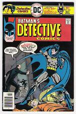 (1976) DETECTIVE COMICS #459 BATMAN MAN-BAT JOSE LUIS GARCIA-LOPEZ PABLO MARCOS