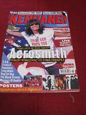 KERRANG! - AEROSMITH - 26 June 1999