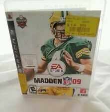 Sony PS3 PlayStation 3 Game Madden NFL 2009 Complete With Case And Booklet