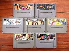 Super Famicom SFC Super BomberMan 1 2 3 4 5 B-Daman World Japan 7 games US Selle
