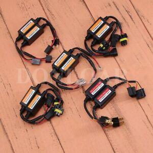 2PC Nighteye LED Headlight Canbus Anti Flicker Resistor Decoder Canceller