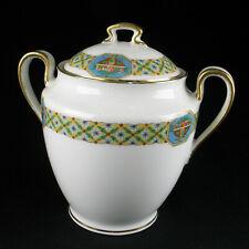 Limoges France Porzellan Dose Deckeldose - french porcelain ornamental can box