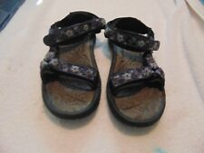 Womens Teva Purple/Blue/Gray Strappy Sandals-9
