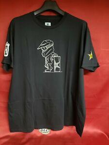 Husqvarna Rockstar Scribble Black T Shirt