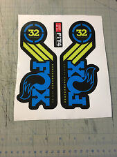 Adesivi forcella FOX 32 Performance serie  - adesivi/adhesives/stickers/decal