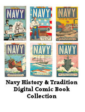Navy History and Tradition – 6 Issues – Golden Age Digital Comic Books on CD