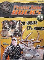 PrimeTime Bucks 16 Hunting Deer DVD,NEW! 28 Hunts Outdoorsman Free Ship !