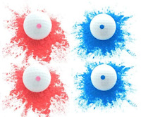 Essential Values Fore! Exploding Golf Balls (4 Balls) Perfect Joke for The Entir