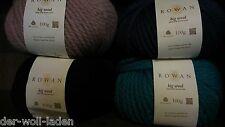 Rowan Big Wool, verschiedene Farben zur Auswahl