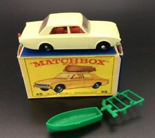 Matchbox Lesney 45 Ford Corsair With Boat