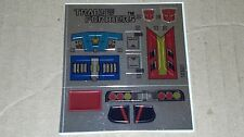 A Transformers premium quality replacement sticker/decal sheet for G1 Overdrive