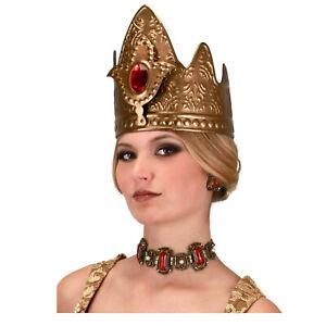 Queen's CROWN Queen Elizabeth Prom Game of Thrones Gold medieval Costume