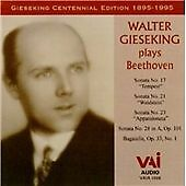 WALTER GIESEKING PLAYS BEETHOVEN NEW CD