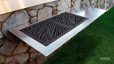 Luxury Gleaming Polish Stainless Steel Designer Barbecues Charcoal and Gas BBQ