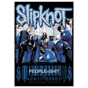 """SLIPKNOT People Sh*t Tapestry Cloth Poster Flag Wall Banner 30"""" x 40"""""""
