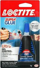 New listing Loctite Ultra Gel Control Super Glue, 4-Gram Bottle, Clear, Model:1363589
