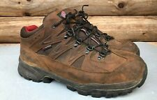 """Red Wing Shoes Men 13 E2 6672 Boots TruHiker 3"""" Waterproof Brown Leather Vibram"""