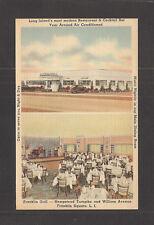 LINEN POSTCARD: FRANKLIN GRILL RESTAURANT & COCKTAIL BAR - LONG ISLAND, NEW YORK