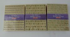 Lot of 3 Word Print Rubber Stamps Hero Arts
