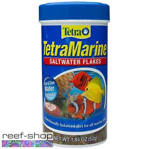 Tetra Marine Saltwater Flakes 1.84oz (52g) Flake Fish Food Marine Reef Aquarium