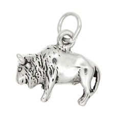 Sterling Silver Water Buffalo Charm