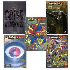 BATMAN SUPERMAN Panini série complète 11 numéros