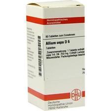 ALLIUM CEPA D 6 Tabletten 80St Tabletten PZN 2627909