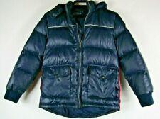 Vintage Tommy Hilfiger Size Boys XL 16-18 Navy Blue Puffer Coat Down Jacket