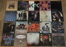 Bulk Lot Vinyl LP Records: THE CURE, STRANGLERS, ÉLVIS COSTELLO, RAM JAM, JARRE