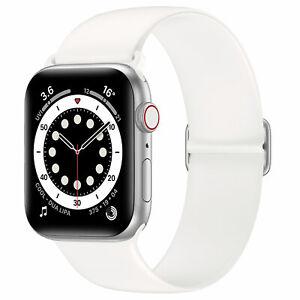Arktis Silikon Loop Armband Apple Watch Series: 7 6 SE 5 4 3 2 1 Ersatzarmband