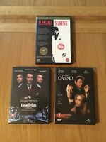 Scarface - Goodfellas - Casino Dvd Bundle
