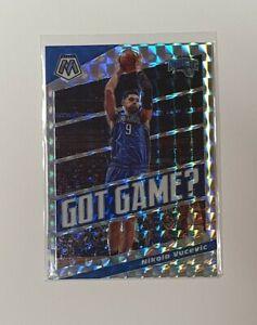 NBA 19-20 Panini Mosaic SILVER Nikola Vucevic Got Game Prizm Card 🔥