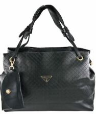 Fashionable Synthetic Leather Bag Sling Top Handle Shoulder Bag (black)