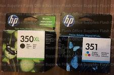 Genuine HP 350XL & 351 non Inchiostro XL per DESKJET OFFICEJET Photosmart IVA INCLUSA