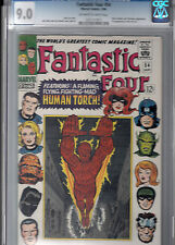 Fantastic Four #54 * 3rd Black Panther, 1st Evil Eye * Cgc 9.0 Vf-Nm