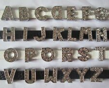 26pcs zinc alloy 8mm slide letter A - Z charm diy bracelet crystal charms GGG