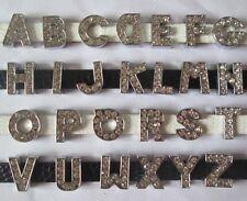 26pcs zinc alloy 8mm slide letter A - Z charm diy bracelet crystal charms MMM